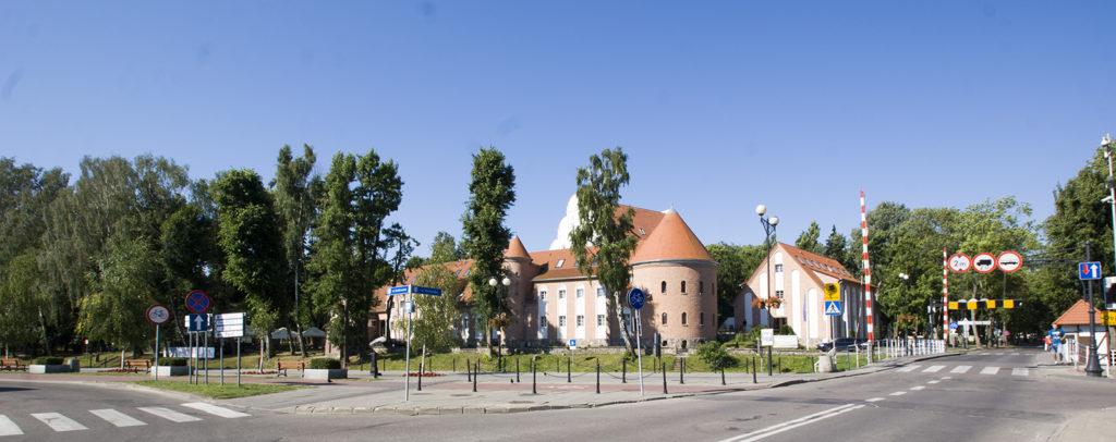Zamek w Gizycku, obecnie hotel